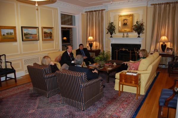 Christy Cox, Ambassador Wilkins, Curtis Loftis, Gregory Rogers & Mrs. Wilkins